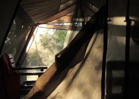 Camping facilities at Rafiki Malawi Safari Lodge